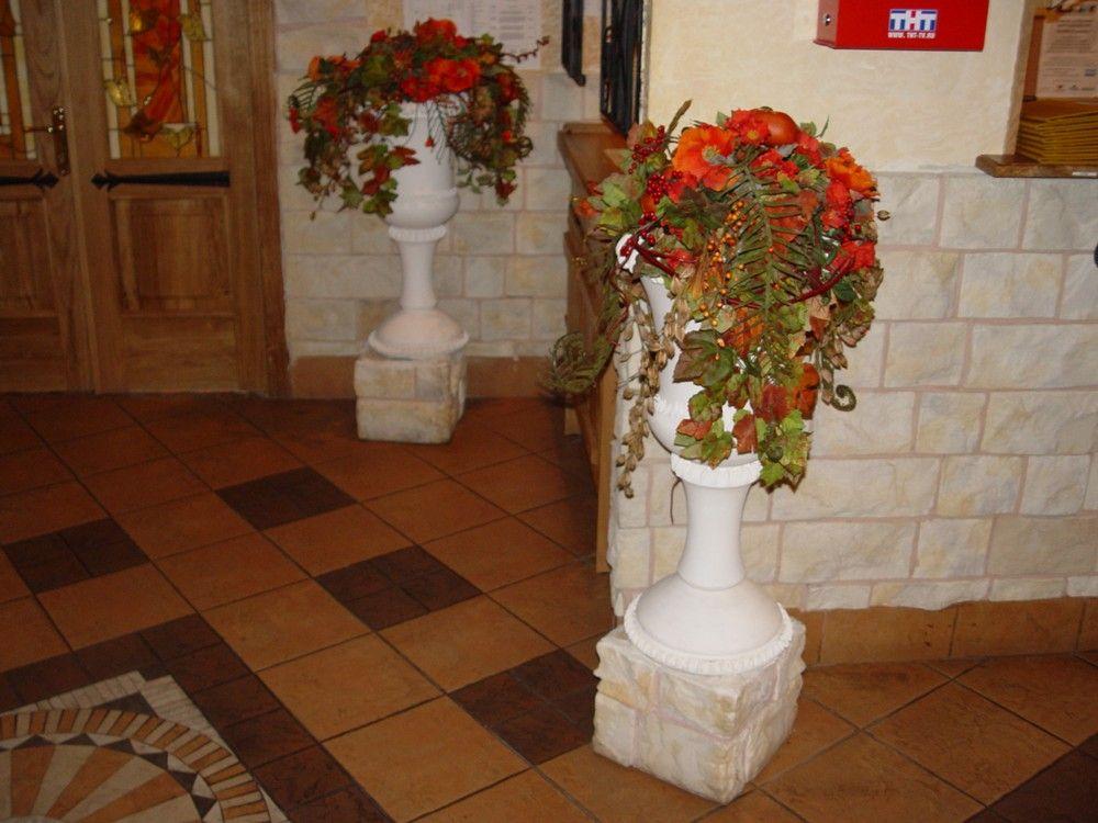напольные вазы из гипса своими руками фото - Портал для самоучек