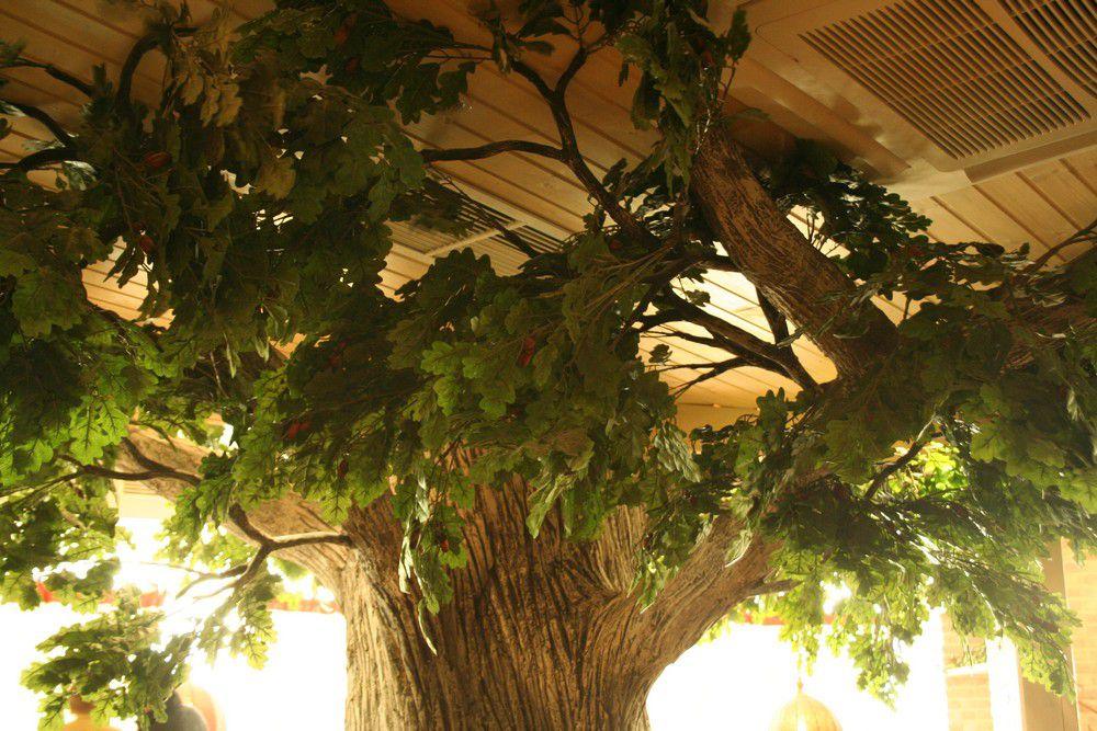 Большое искусственное дерево своими руками 866
